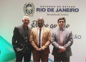 """Conleste participa do lançamento do programa """"Rumo ao Rio"""", da Secretaria de Turismo do Estado."""