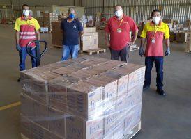 Coronavírus: Conleste recebe 33.000 sabonetes para doação